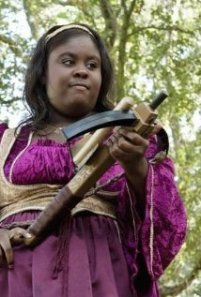 Raven Goodwin in Huge. Photo by Bruce Birmelin – © 2010 Disney Enterprises, Inc.
