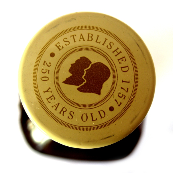 Whiskey bottle top