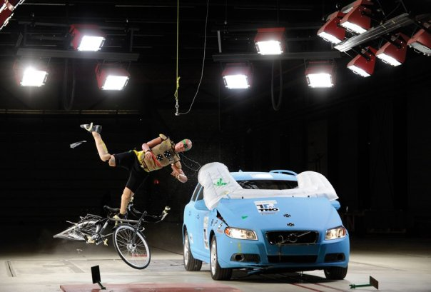 Megapixels: Car Airbags That Could Save A Cyclist's Life | Popular Science